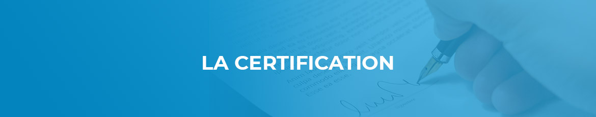 La certification de la clinique